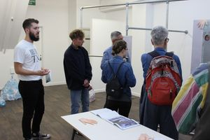 'Kena Hetuna / Open & Closed' Curators Tour