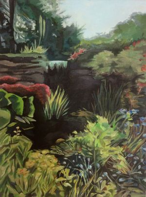 Kew Gardens and  Beyond! paintings by Bronwen Dace