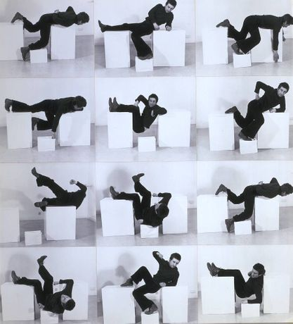 Bruce McLean, Pose Work for Plinths 3