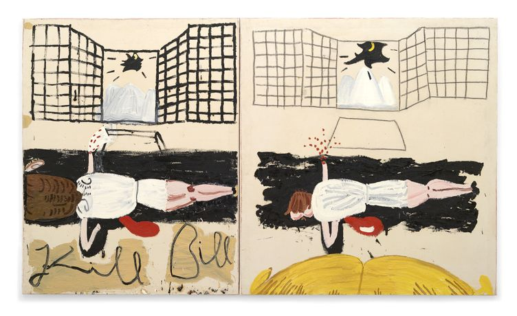 Kill Bill (Film Notes), 2007, Rose Wylie