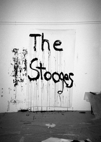 Kim Gordon - Design Office: Noise Name Paintings and Sculptures of Rock Bands that are broken up: Image 0