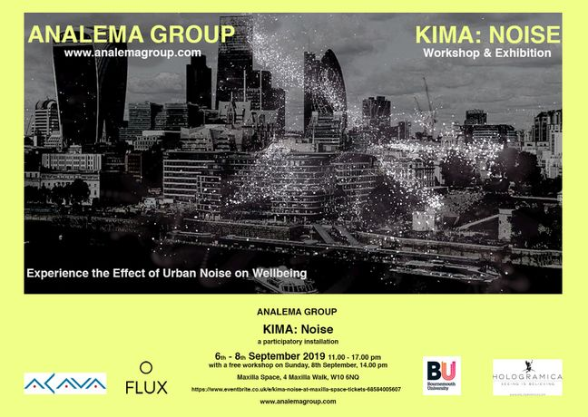 KIMA: Noise at Maxilla Space, Analema Group 2019