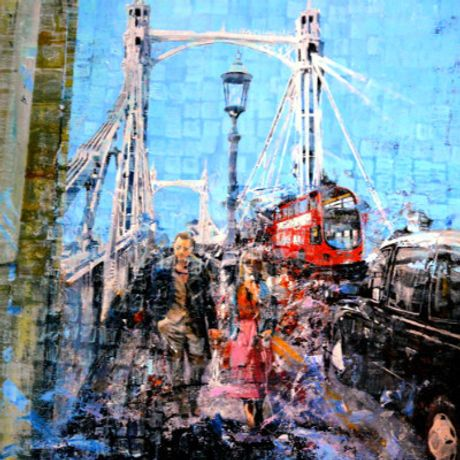 Albert Bridge by Paul McIntyre (Box Galleries)