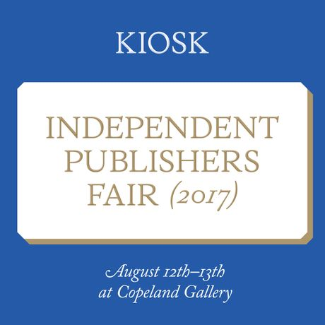 Kiosk Independent Publishers Fair 2017: Image 0