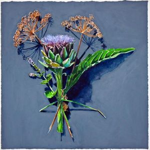 Kirsty Lorenz 'Votive Offering No. 100, Artichoke and Dill'.
