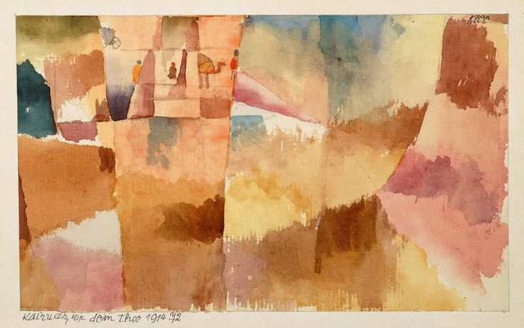 Paul Klee , Kairuan, vor dem Thor, 1941 Photo: Moderna Museet