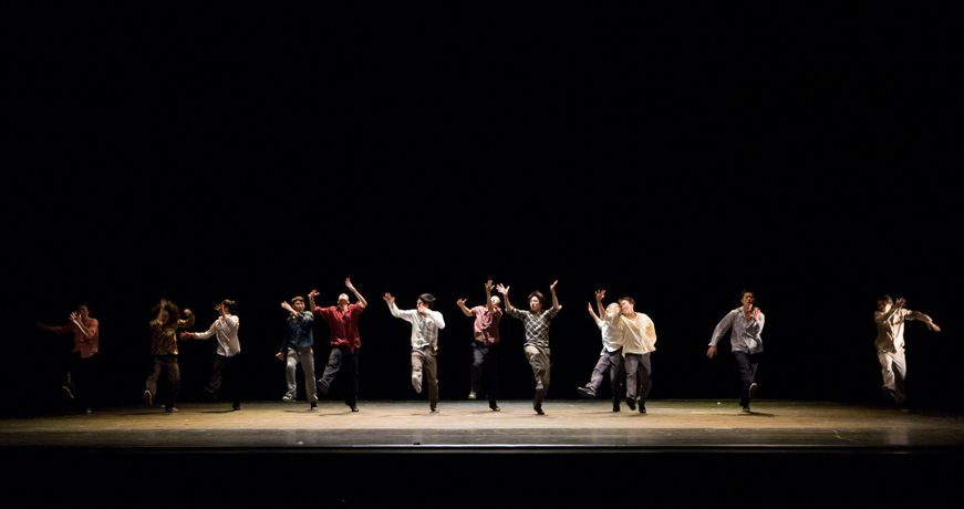 Korea National University Of The Arts K-Arts Dance Company: Triple Bill: Image 1