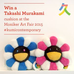 Win a Takashi Murakami cushion with Kumi Contemporary