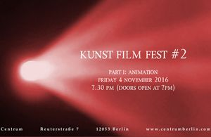 KUNST FILM FEST #2: Part I: Animation