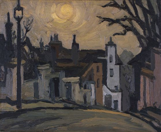 Kyffin Williams: Highgate West Hill.
