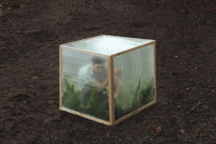 Kyle Thompson, Greenhouse, 2018. Fine art print, 80 x 120 cm, edition 1/3; 61 x 91 cm, edition 1/3. Courtesy aA29 Project Room.