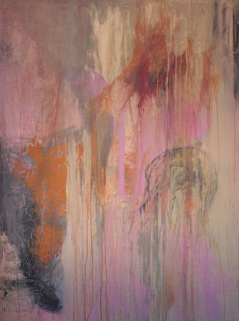 Deposition of the Self - mixed media on canvas