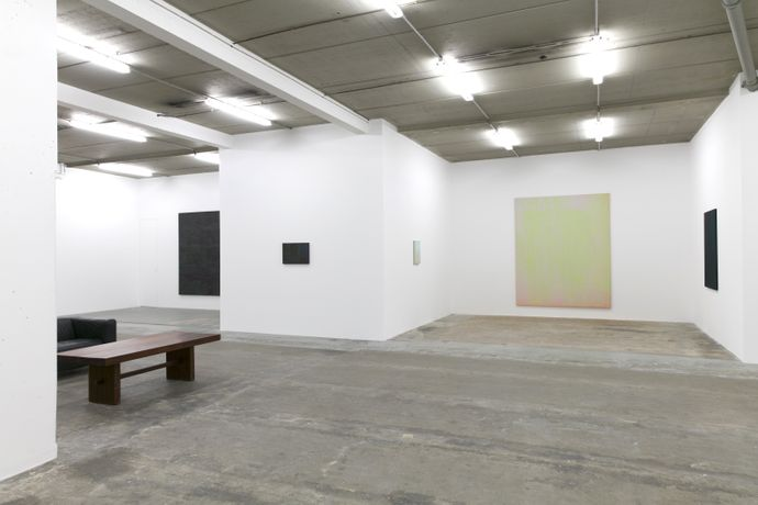 Exhibition view, La véranda, Gérard Traquandi, Laurent Godin Gallery, Paris, 2018.