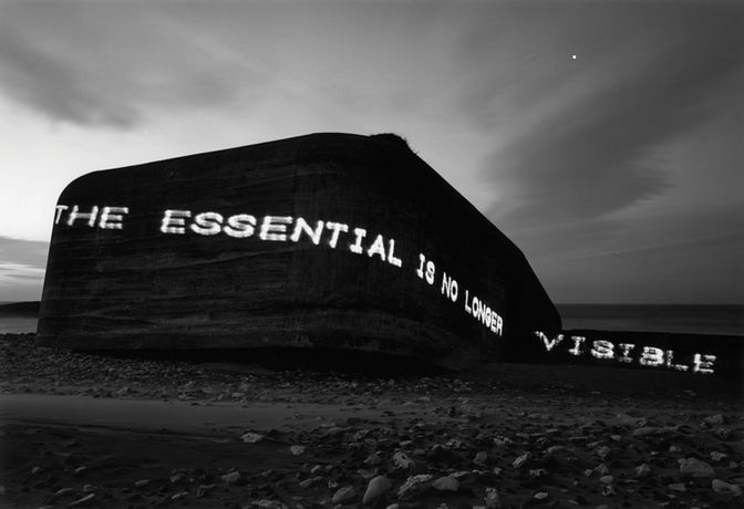 Magdalena Jetelová, The essential is no longer visible, 1995 (2011), lightbox, © Wrocław Contemporary Museum
