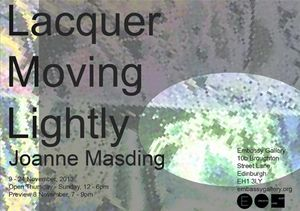 Lacquer Moving Lightly | Joanne Masding