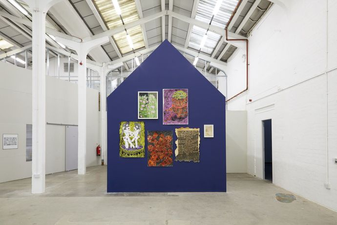 Lady Skollie's work at Eastside Projects in 2018.