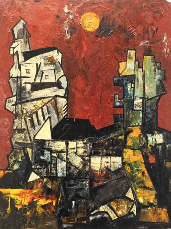 Untitled Townscape, 1962