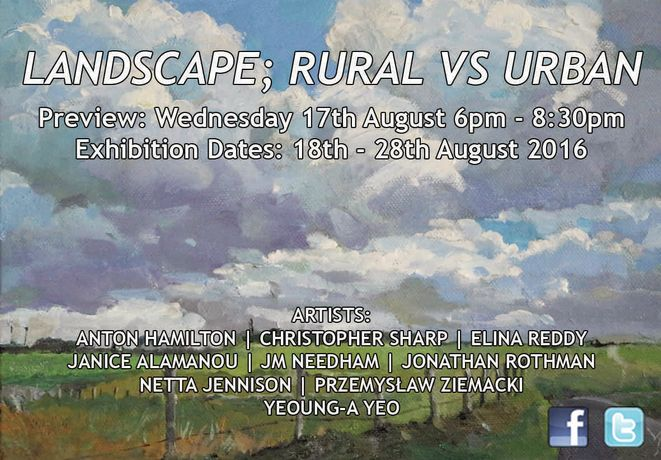 LANDSCAPE; RURAL VS URBAN 18th – 28th August 2016: Image 0