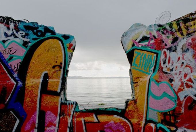 Graffiti to the Bay – Albany, photo by Xan Blood Walker