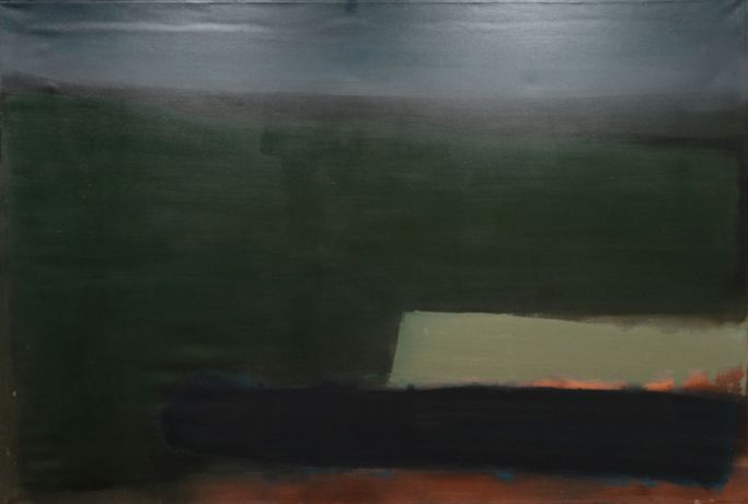 Elaine Watt, Landscape I, 1998, oil on canvas