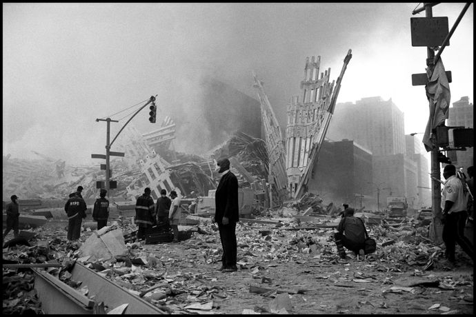 World Trade Center New York City, September 11th, 2001 © Larry Towell / Magnum Photos