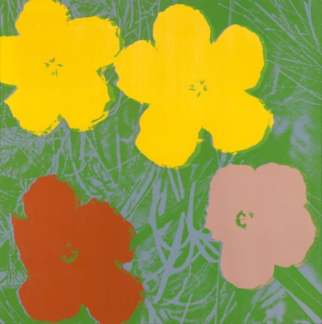 Andy Warhol Flowers Color silkscreen