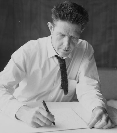 John Cage (c. 1950) Courtesy of the John Cage Trust