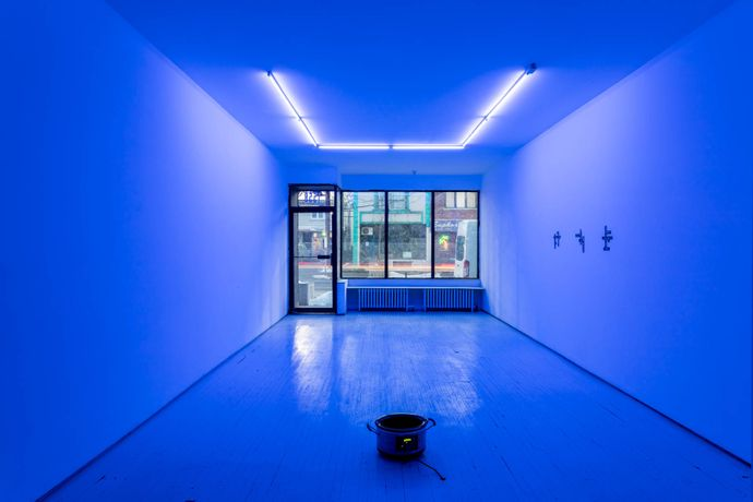 Installation View of The Beats and The Shouting