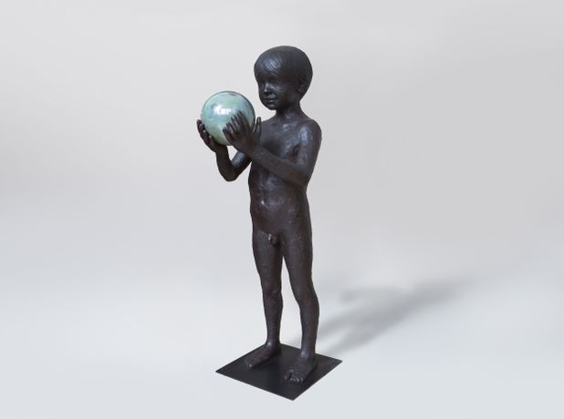 LAURENT GRASSO  Untitled, 2019  bronze  45 3/10 inches (115 cm)  LG-S.19.1798