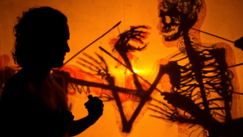 Laurie Innes, Machines do not think, Live shadow Puppetry show between 7 - 8pm: Image 0