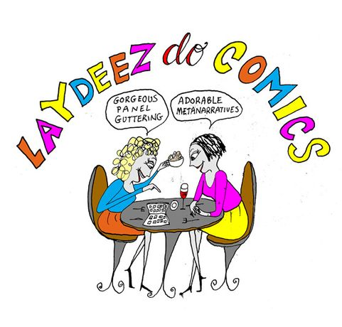 Laydeez Do Comics with Isabel Greenberg, Penelope Mendonca and Dr Geraldine Perriam: Image 0