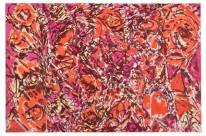 Lee Krasner, Icarus, 1964, Oil on Canvas, Private Collection. Credit: © The Pollock-Krasner Foundation, courtesy Kasmin Gallery, New York. Photo: Diego Flores.