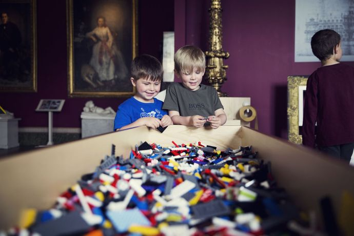 Lego®: Building The Bowes Museum: Image 1