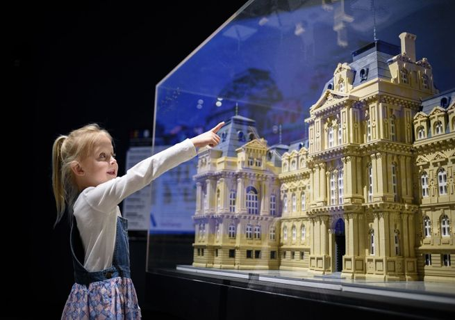 Lego®: Building The Bowes Museum: Image 0