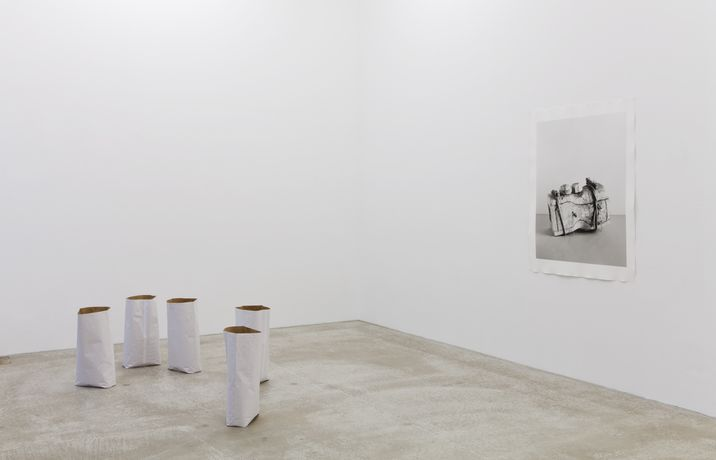 installation view, courtesy of the artist and Daniel Marzona