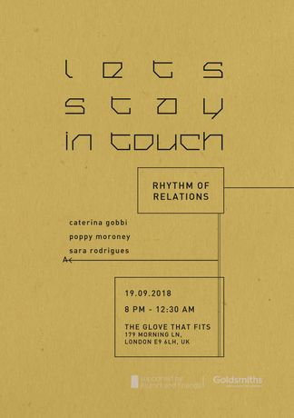 Let's stay in touch : Rhythm of Relations: Image 0