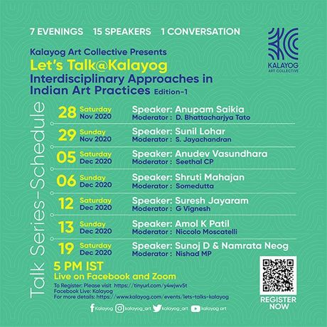 Let's Talk@Kalayog Talk Series on  'Interdisciplinary Approaches in Indian art practices': Image 0