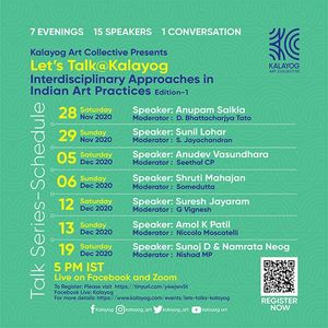 Let's Talk@Kalayog Talk Series on  'Interdisciplinary Approaches in Indian art practices'