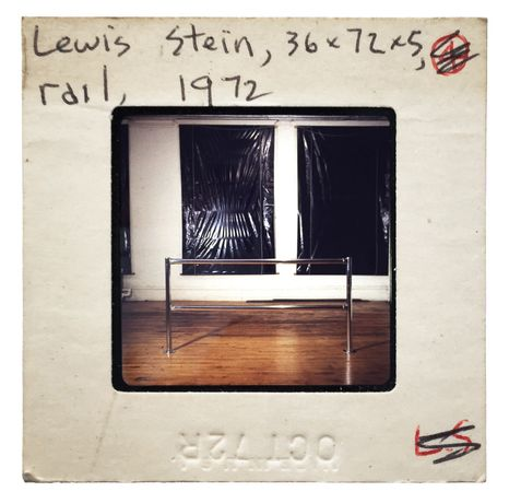 Lewis Stein. Works from 1968-1979