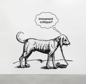 Liam Gillick. A Depicted Horse is not a Critique of a Horse