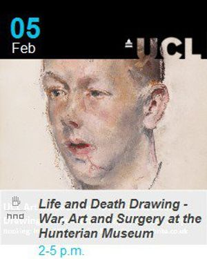 Life and Death Drawing - War, Art and Surgery at the Hunterian Museum