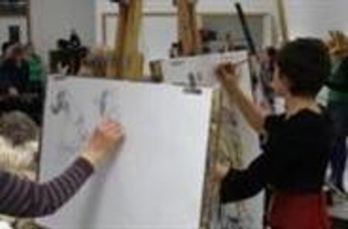 Life Drawing - Workshop at Scarborough Art Gallery in