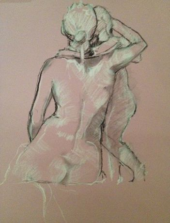 Life Drawing at The Usher Gallery: Image 0