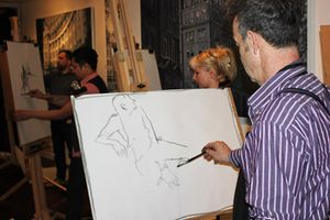 Life Drawing Class with Frank Gambino