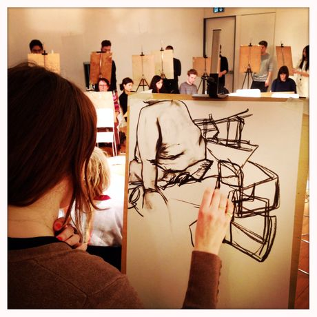 Life Drawing Class with London Drawing in March: Image 0