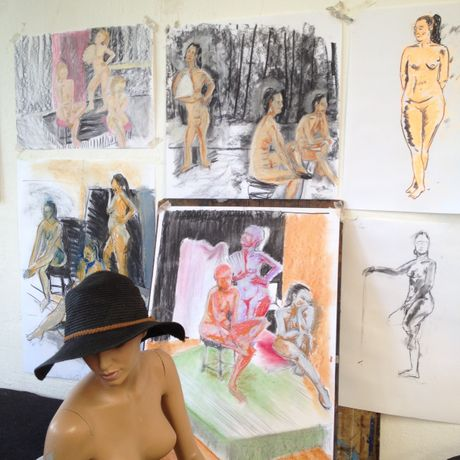 Life Drawing: Colour Pastels: Image 1
