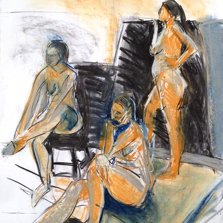 Life Drawing: Colour Pastels: Image 0