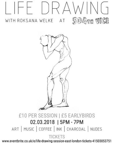 Life Drawing. East London: Image 0