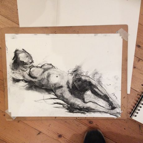 Life Drawing: Exploring Materials: Image 0