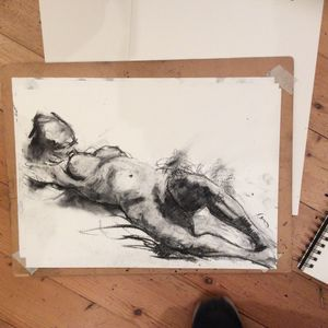 Life Drawing: Exploring Materials